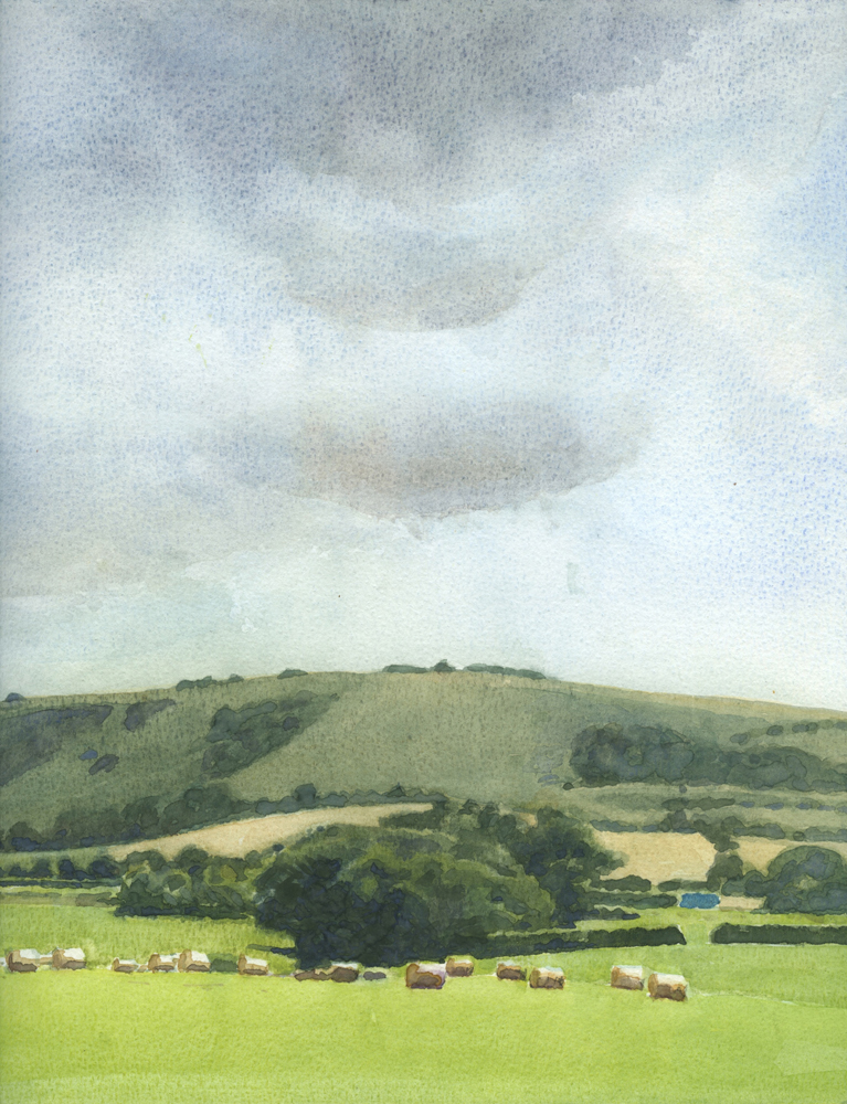 The downs by Ringmer