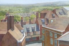 Castlegate, Lewes, at noon