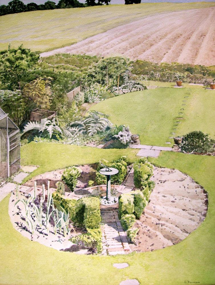 Cooksbridge garden