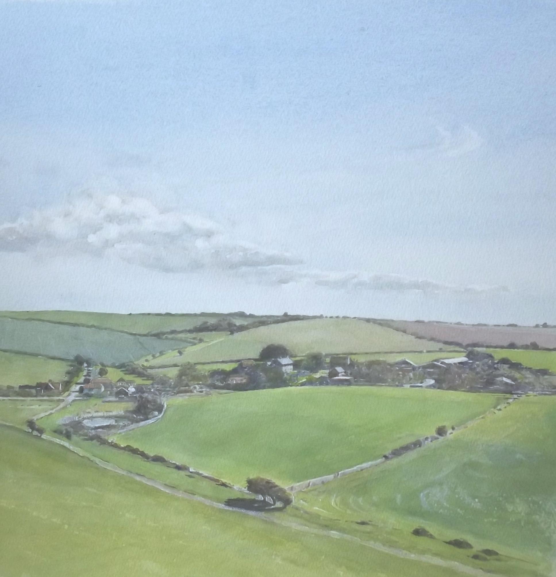 View towards Norton, Sussex.
