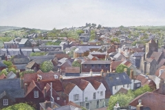 Lewes from Chapel Hill.