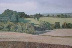 View near Dallington