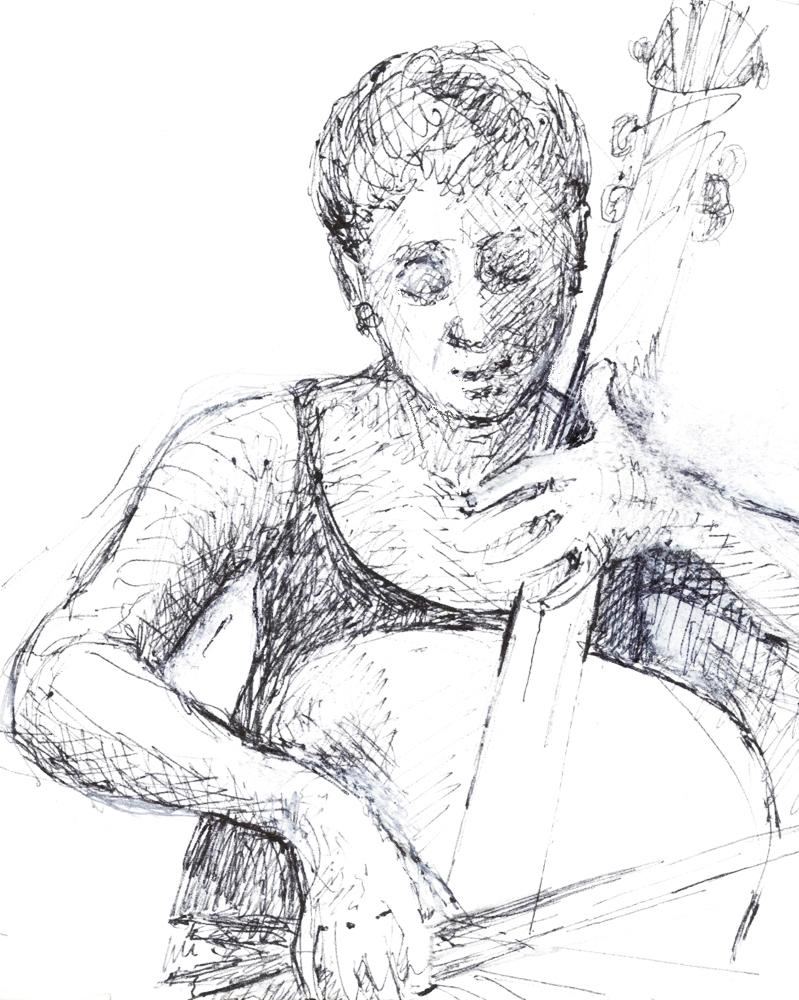 Musicians sketcbook lll